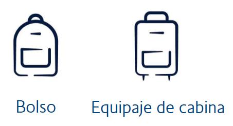 Medidas permitidas de quipaje de mano British Airways