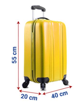 Tamaño de equipaje de mano Ryanair