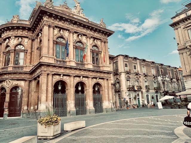 piazza teatro catania